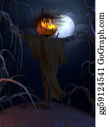 Scary-Pumpkin - Halloween Poster