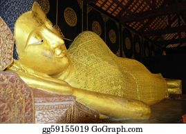 Mai - The Buddha Sleep Statue