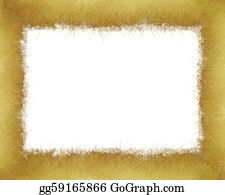 Christmas-Gold - Gold Winter  Christmas Grunge Frame