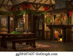 Grandfather-Clock - Xmas Inn