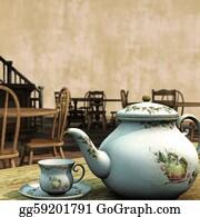 Tea-Pot - Vintage Tea Rooms