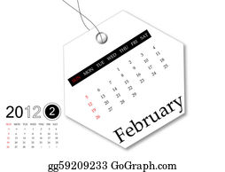 February - February Of 2012 Calendar