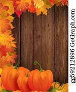 Fall-Harvest-Background - Autumn Frame