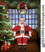 Beards - Toon Santa