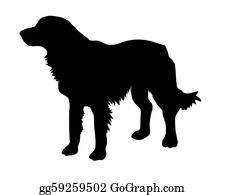 Barking-Dog - Illustration Of The Rambling Dog On