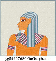 Pharaoh - Egyptian Mosaic
