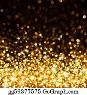 Christmas-Gold - Golden Christmas Lights Background