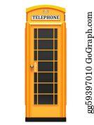 London-Pay-Phone - The British Orange Phone Booth