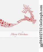 Reindeer-Christmas-Silhouettes - Reindeer Red From Stars