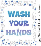 Wash - Wash Your Hands Bubbles