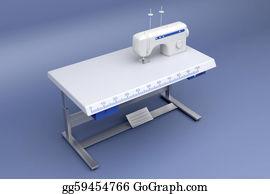 Electric-Meter - 3d Industrial Sewing Machine