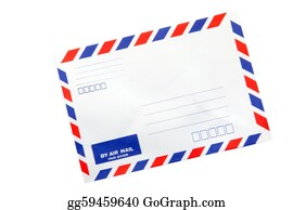 Air-Mail-Stamp - Air Mail Envelope