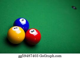 Billiards - Billiard Table And Balls