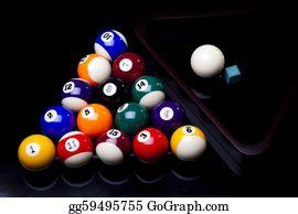 Cue-Ball -  Close Up Shot Of Pool Ball