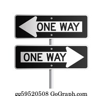 One-Direction-Road-Sign - One Way Board 2