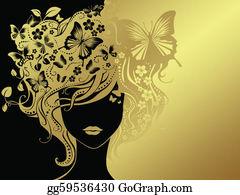 Deformed - Woman And Butterflies