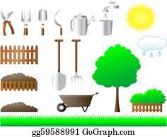 Spade - Set Of Tools For House And Garden