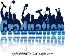 Graduation - Graduation Celebration In Silhouette