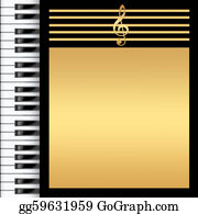 Music-Notes-On-Piano-Keyboard - Piano Keyboard