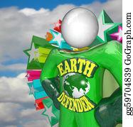 Challenges - Earth Defender Super Hero Environmentalist Activist