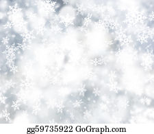 Falling-Snow-Background - Snowflake Background