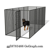 Rottweiler - Dog Kennel