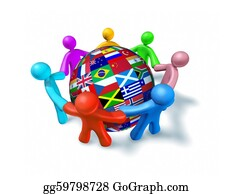 Globe-Flags - International Network Of World Cooperation