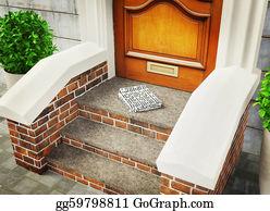 Newspaper-Delivery - Entrance