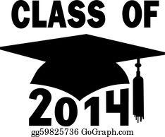 Graduation - Class Of 2014 College High School Graduation Cap