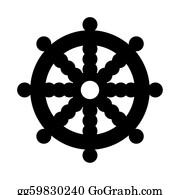 Buddhist - Buddhist Wheel Of Dharma