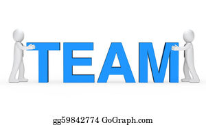 Congregation - Business Men Blue Team Word