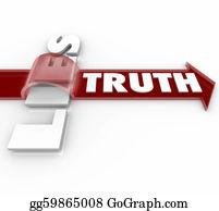 Honesty - Truth Beats Lies Arrow Over Word Honesty Vs Dishonesty