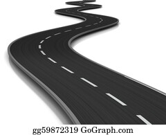 Forward - Curved Road