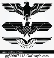 Military-Eagle-Emblem - Eagle Coat Of Arms Heraldic