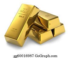 Bank-Vault - Gold Bars