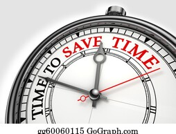 Time-For-Shopping - Time To Save Time Concept Clock