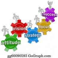 Forward - Vision Strategy Gears People Rise To Achieve Success