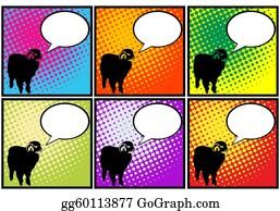 Say - Sheep In Pop Art