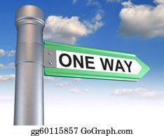 One-Direction-Road-Sign - One Way