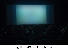 People-Watching-A-Movie - Cinema Screen