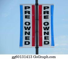 Car-Lot - Used Car Sign