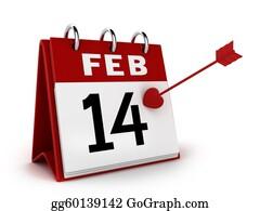 February - Valentine's Day Calendar