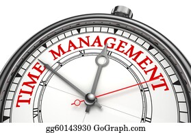 Management - Time Management Concept Clock