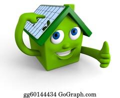 Solar-Panel - Solar Panels On The Roof