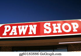 Pawn - Pawn Shop Sign