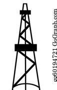 Drilling-Rig - Oil And Gas Derrick