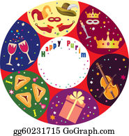 Purim - Purim Holiday Background