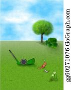 Lawn-Mower - Gardening