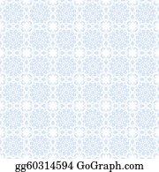 Vine - Pale Blue Kaleidoscope Background