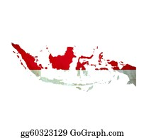 Indonesia - Map Of Indonesia Isolated